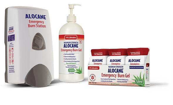 Alocane Burn Gel Product Display